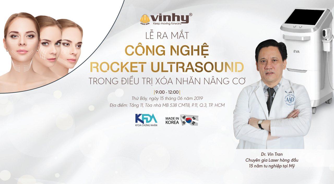 Rocket Ultrasound bước đột phá trong lĩnh vực trẻ hóa da hiện đại