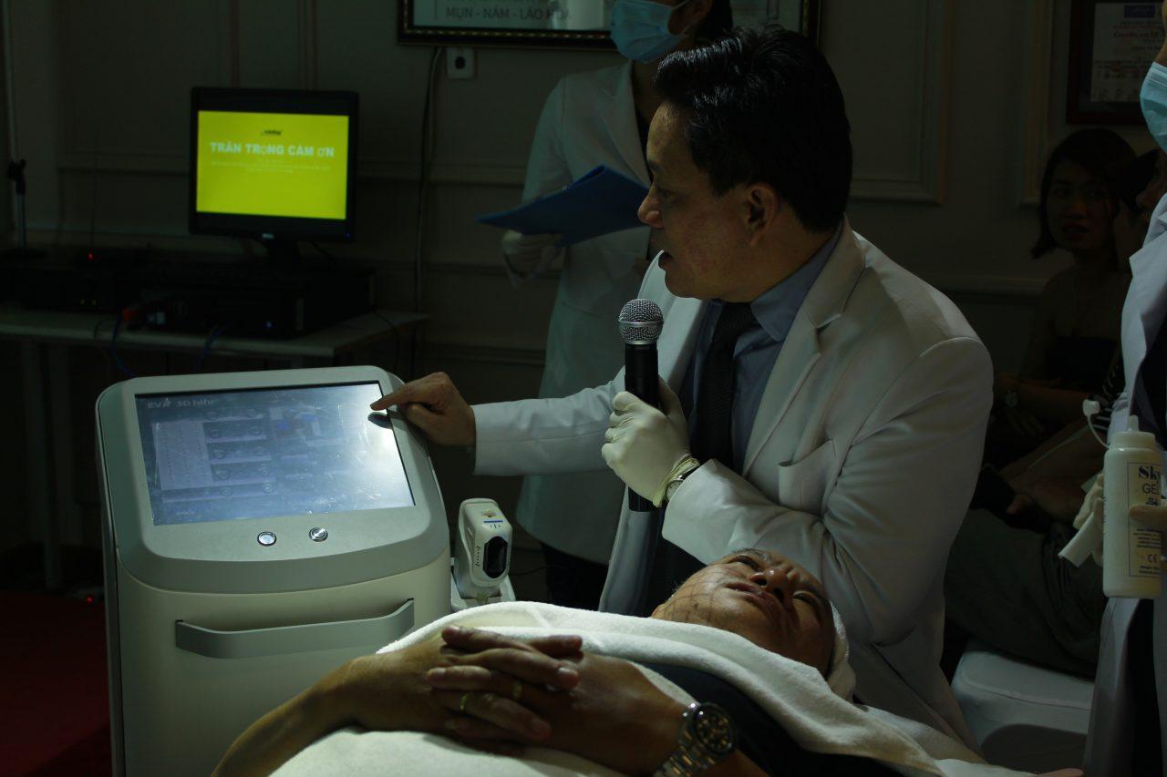 máy xóa nhăn công nghệ mới