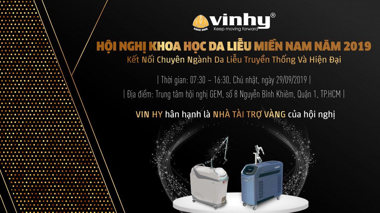 VIN HY THAM DỰ HỘI NGHỊ DA LIỄU MIỀN NAM 2019